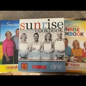 Sunrise Cookbook Set